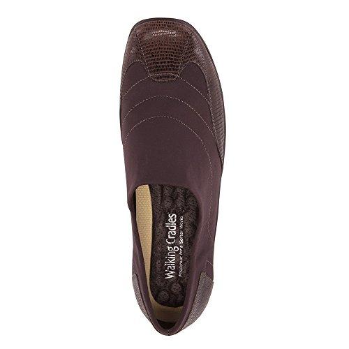 Flat Walking Almond Women's Brown Stretch Cradles ttqTw4