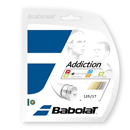 Babolat Addiction Tennis String Set (17G Set) - 17g String Set