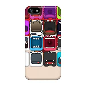 Waterdrop Snap-on Monster Face 8 Case For Iphone 5/5s