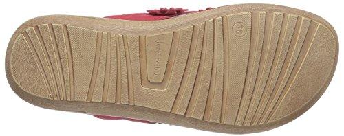 Josef Seibel Matilda 01 - Sandalias de cuero para mujer rojo - Rot (30 350 rot)