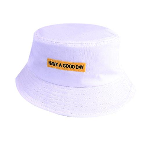 Amanti pesca inglese Secchiello da Cappello Cappello Stampa Amanti pesca Unisex bianca viaggio da da x6gA0S