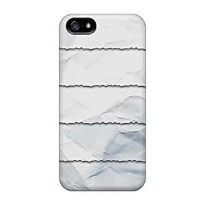 Premium Torn Paper Shelves Covers Skin For Iphone 5/5s