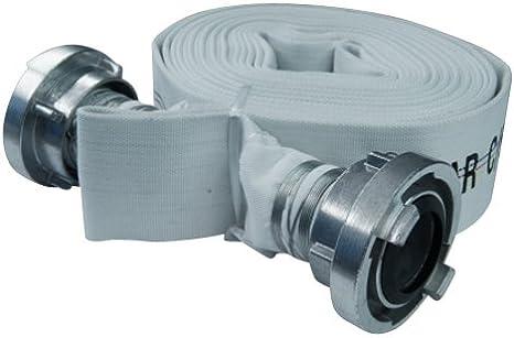 1,34/€//m Bauschlauch Superline Wasser-Flachschlauch 2Zoll 20m mit C-Storz Kupplung 10 Bar