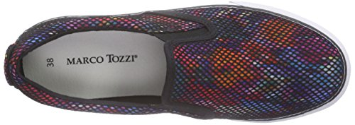 Marco Tozzi 24611 - Mocasines Mujer Varios Colores - Mehrfarbig (MULTICOLOUR 990)