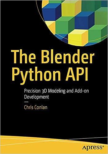 Amazon com: The Blender Python API: Precision 3D Modeling