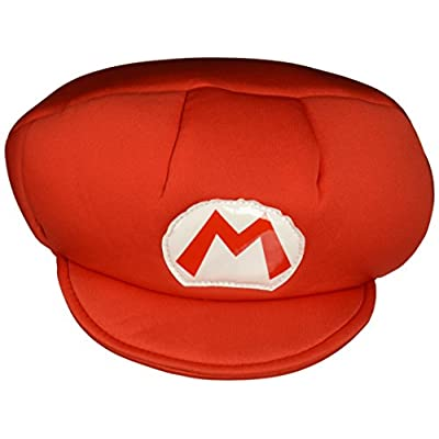 Nintendo Super Mario Brothers Mario Child Hat, One Size Child: Toys & Games