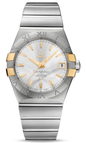 Omega Constellation Co-Axial Automatic Stainless Steel an...