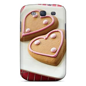 Fashionable Style Case Cover Skin For Galaxy S3- Love Cookies
