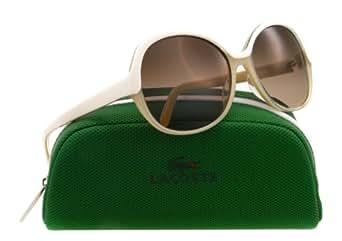 Lacoste - Gafas de sol - para mujer Blanco cream/butter one size