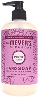 product image for Limited Edition Scent Mrs. Meyer's Clean Day - PEONY Scent Hand Soap 12.5oz - 2-PACK