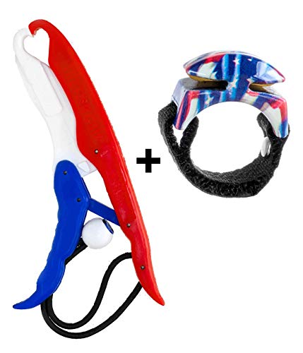 Line Cutterz Lunker Tamers Fish Gripper Ring Combo Pack (Hero Edition)