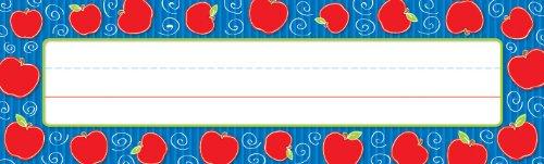 Carson Dellosa Apples Nameplates (122007) ()