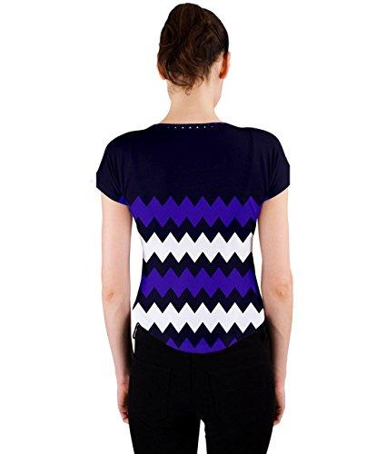 CowCow - Camiseta sin mangas - para mujer Indigo and Purple
