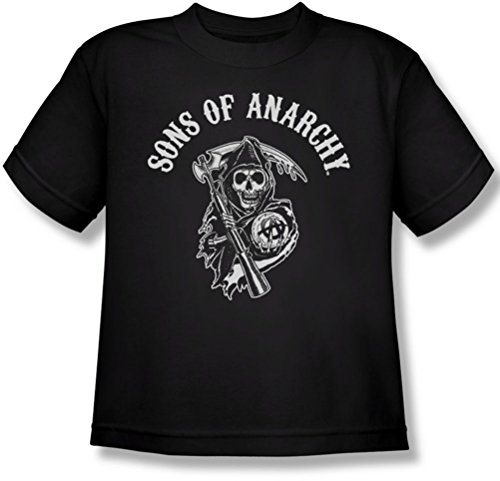 Sons Of Anarchy - Youth Soa Reaper T-Shirt, Large, Black