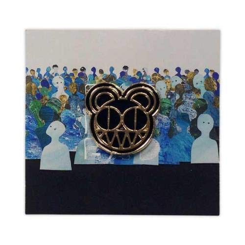 Radiohead 2018 Tour Bear Logo Enamel Pin Black