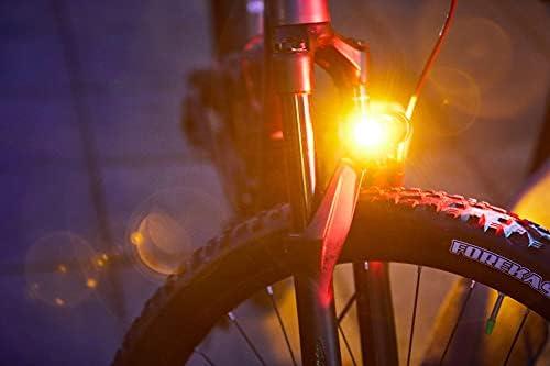 Brghtside Bike Light Bright Amber Side Lights Side Lighting for Cyclists