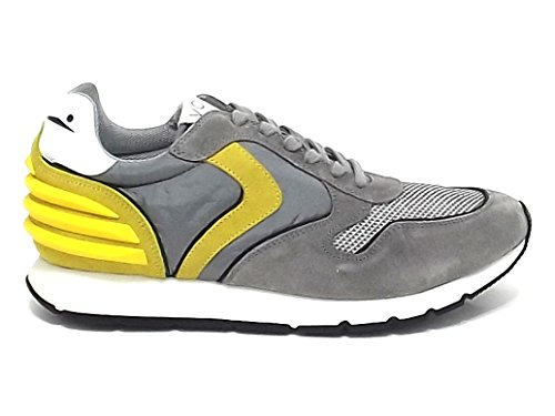 Uomo camoscio 9102 E8102 Liam Blanche Voile Sneaker Grigio Scarpa EvUYxE4w