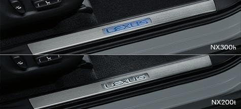 LEXUS 純正用品NX エヌエックス スカッフイルミネーション [2]08266-78040-C0:ホワイト色発光