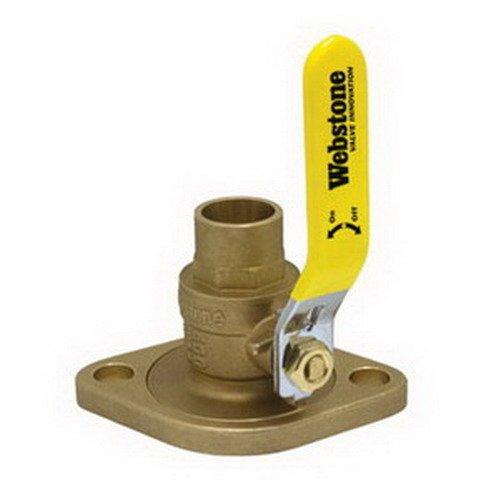 Webstone 51404 Isolation Pump Flange with Rotating Flange, Sweat, Plastic,  1'' x 1'' x 1''
