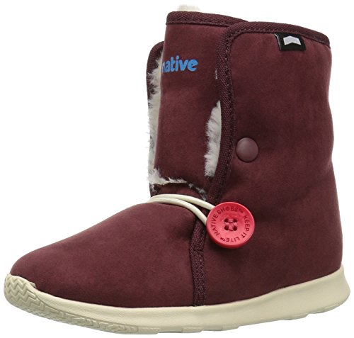 Native Shoes Baby AP Luna Child Fashion Boot, Spcrd/Bnwht, 6 M US Toddler