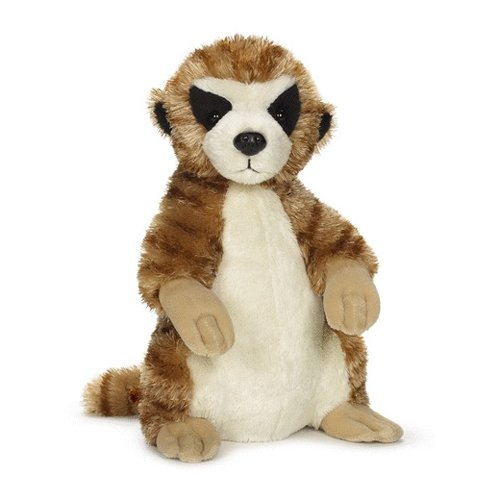 Stuffed Meerkat (Webkinz October Release Meerkat)