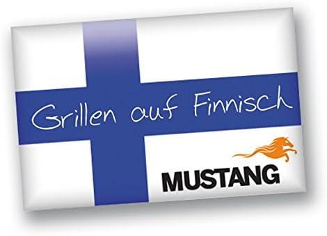 Mustang original muurinpohjap annu Barbecue Poêle Ø 45 cm Plateau 3 Pied Finlande