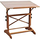 Alvin AP442 Pavillon Art and Drawing Table Unfinished Wood Top 31 inches x 42 inches