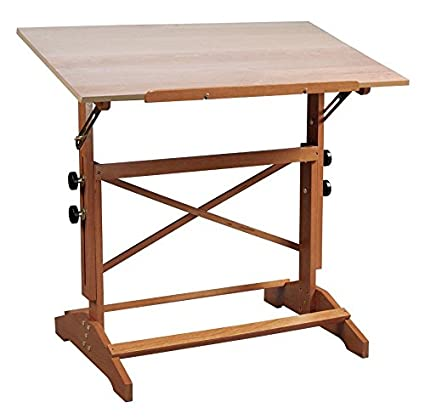 Alvin AP436 Pavillon Art and Drawing Table Unfinished Wood Top 24 inches x 36 inches Alvin & Company Inc.
