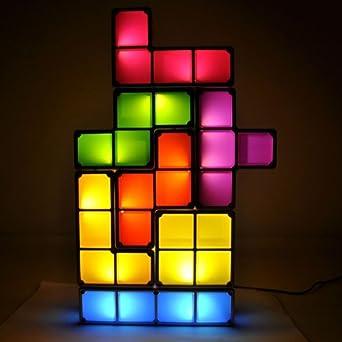 Lychee Tetris Light Constructible Desk Lamp Light Three ...