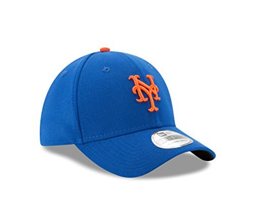 MLB New York Mets Junior Team Classic Game 39Thirty Stretch Fit Cap, Blue, Child/Youth -