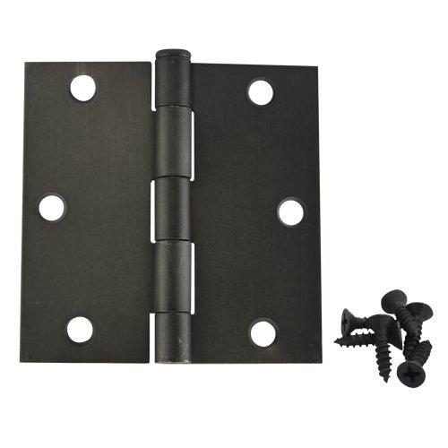24 Pack - Cosmas Oil Rubbed Bronze Door Hinge 3.5
