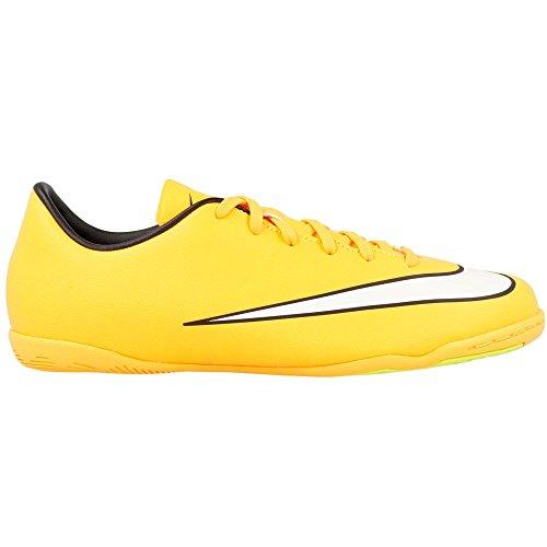 IC Nike Orange Laser Mercurial Jr volt V Competition Indoor Soccer Victory White Shoe black IIRq4