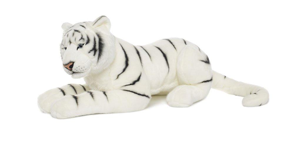 Mimex WWF15815 - Schneetigermama liegend, 81 cm