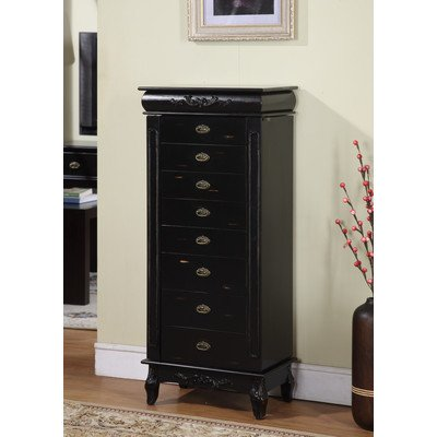 Eight Drawer Armoire (Nathan Direct Moss 8-Drawer Jewelry Armoire)