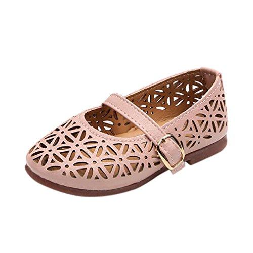 651bea79d Mejor PAOLIAN Verano Zapatos para Niña Princesa Calzado Zapatos de Niñito  Zapatos De Cuero Pequeños Antideslizante
