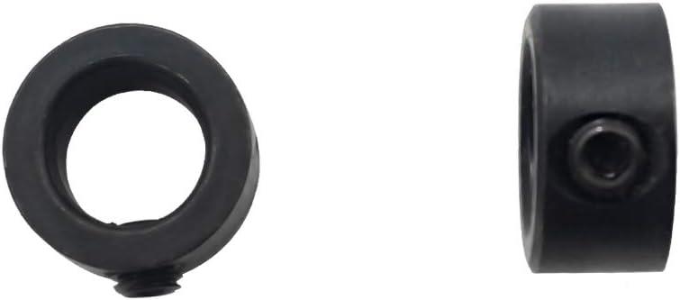 Festnight 8 Pcs Peu Limite Anneau 3-16mm Bois Foret Pour Profondeur Stop Colliers Bague De Positionnement Bricolage Ironware Outil