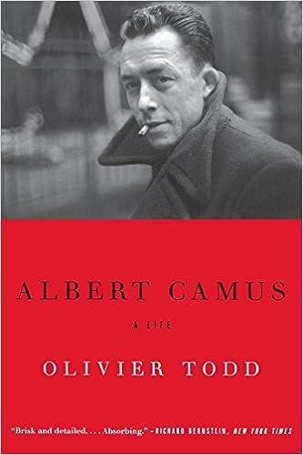 albert camus most famous works