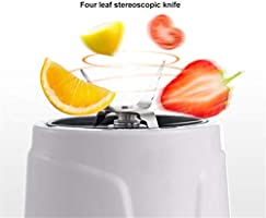 Mezzeno300W Mini Licuadora Exprimidor Eléctrico Zanahoria Fruta ...