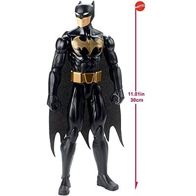 DC Comics Justice League Action Stealth Shot Batman Figure: Toys & Games