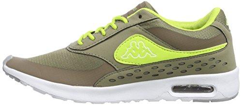 Sintético Deporte Milla 3433 Zapatillas lime Kappa Mujer Verde Women Khaki  Footwear De Material C0qXwTXZ a225f86e9f032