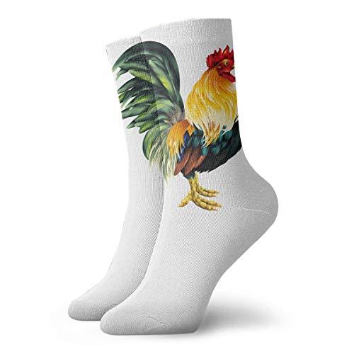 YUANSHAN Socks Vibrant Rooster Women & Men Socks