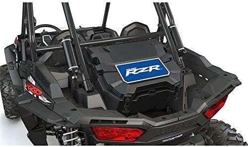Lockable Rear Cooler with Handle Black RZR 48 qt