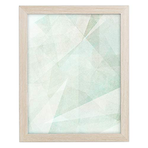16x20 Picture Frame Matted for 11x14 - Barnwood Natural Oak, Frames by EcoHome ()