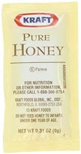 Kraft Pure Honey, 9-Gram Packages (Pack of 200)