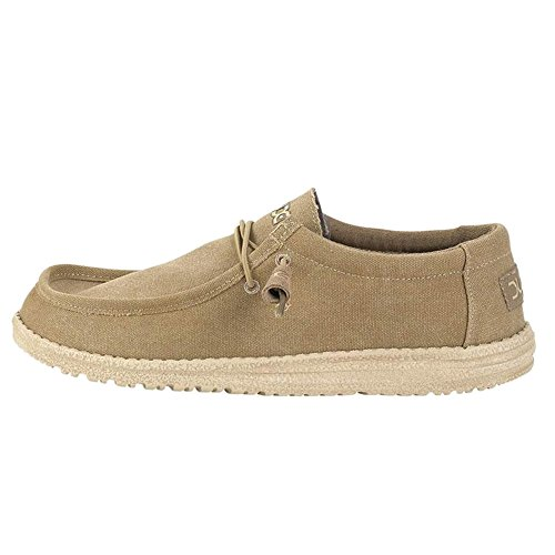 Classic Wally Brown Détente Dude Homme Chaussures Hey Beige BaxP6aq