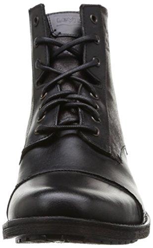 Levi's Maine, Scarpe da Ginnastica Uomo Nero (159 Regular Black)