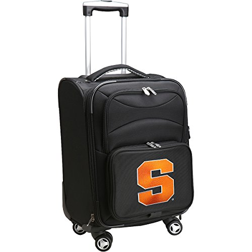 denco-sports-luggage-syracuse-university-20-black-domestic-carry-on-spinner