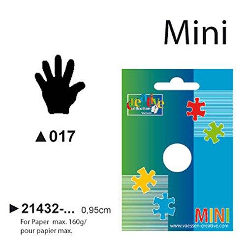 Vaessen Creative 21432-017 Perforatrice Mano, Picolla, Plastic, 5 x 3.4 x 3.8 cm