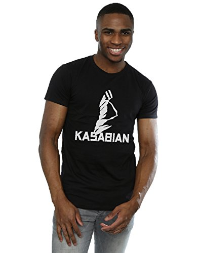 Kasabian Men's Ultraface Logo T-Shirt Large Black -