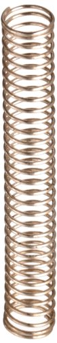 """Silver-Coated Beryllium Copper Compression Spring .190"""" OD x 014"""" Wire Size x 1.400"""" Free Length (Pack of 10)"""